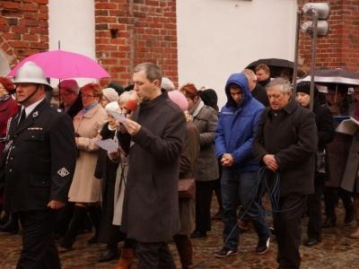 Chór parafialny w Sępopolu.