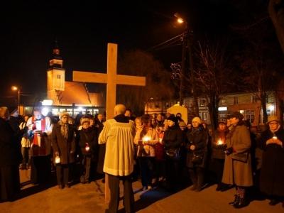 Droga Krzyżowa ulicami naszego miasta - 25 marca 2015