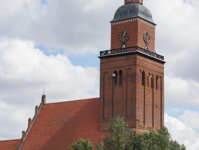 Kościół parafialny w Sępopolu.