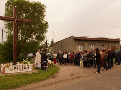 Msza święta o urodzaje w Rusajnach.