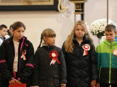 Msza święta szkolna z okazji Odzyskania Niepodległości