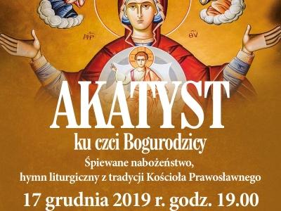 Rekolekcje Adwentowe zakończone Akatystem ku czci Bogurodzicy Dziewicy