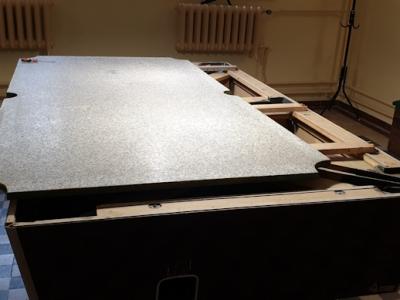 Remont stołu bilardowego w Oratorium